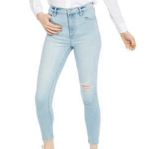Celebrity Pink Juniors' Ripped High-Rise Skinny